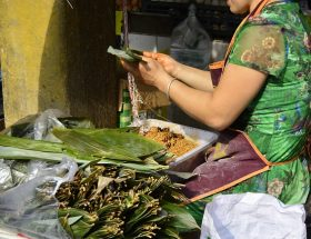 festival del riso di Cao Lan
